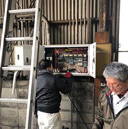 電気容量増設工事